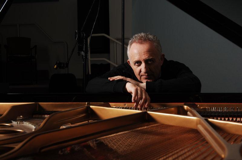 Maestro Bramwell Tovey at the piano